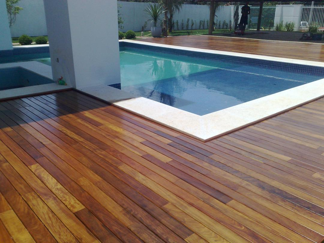 Decking Rustic Wood Flooring