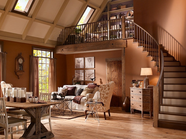 Rustic Living Wood Flooring