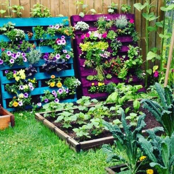 Diy Pallet Planter Design