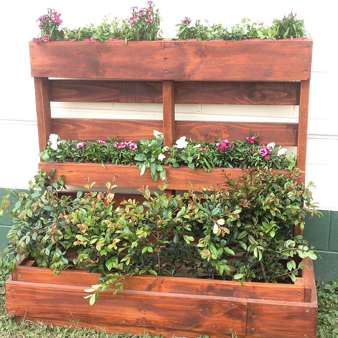 Gardening Pallet Planter Design