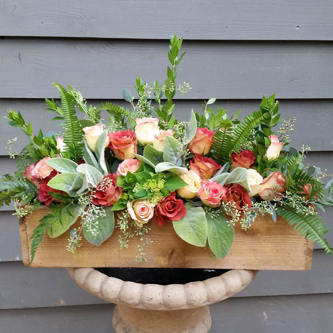 Rose Pallet Planter Design