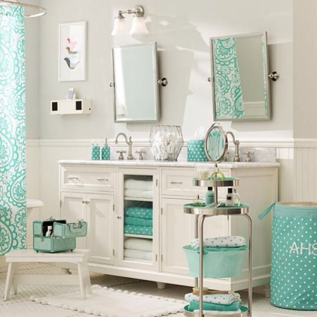 Paisley Fabulous Kid Bath Room Design