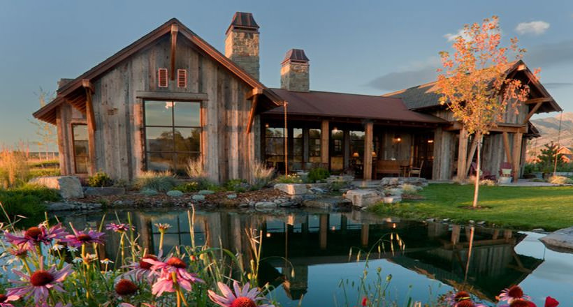 Img. Rustic Residence Exterior Designs ...