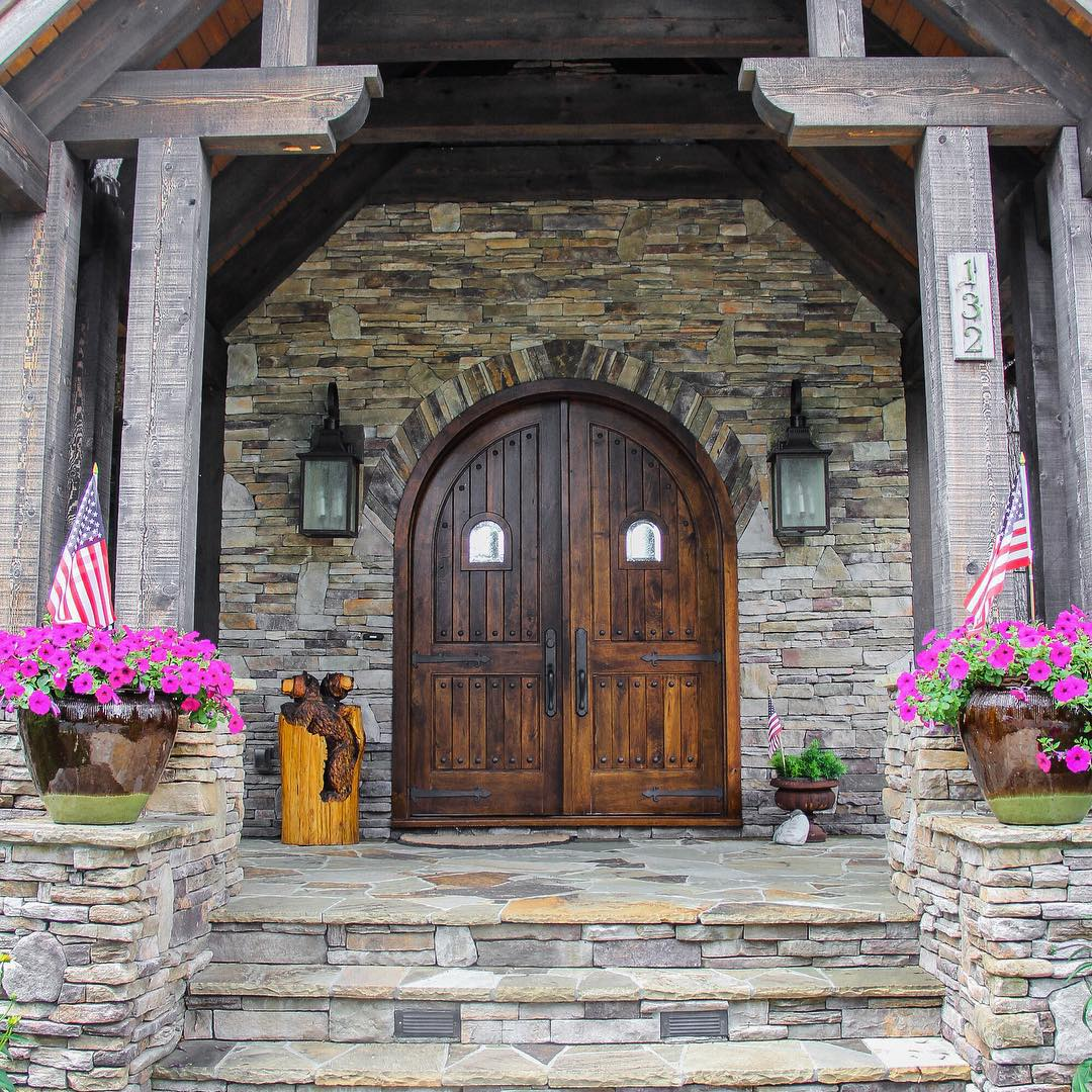 15+ Rustic Residence Exterior Designs, Ideas