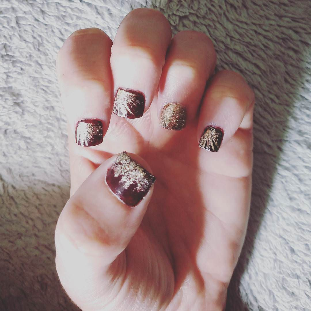 bad fall nail design