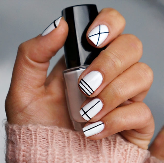 minimalistic fall nail design4