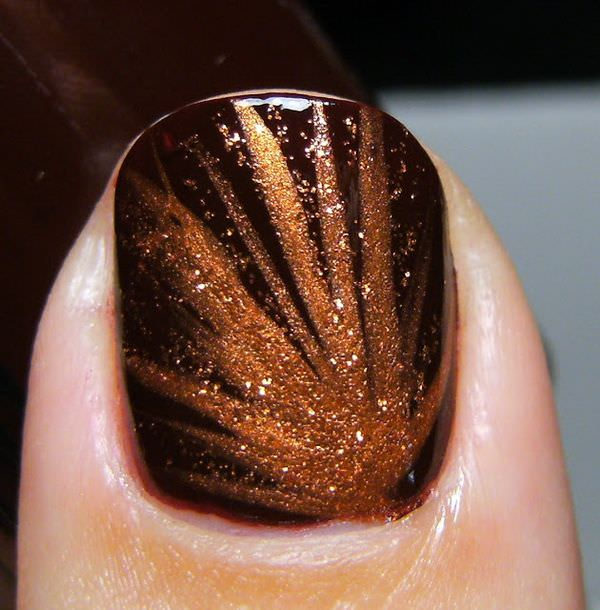 new fall nail design