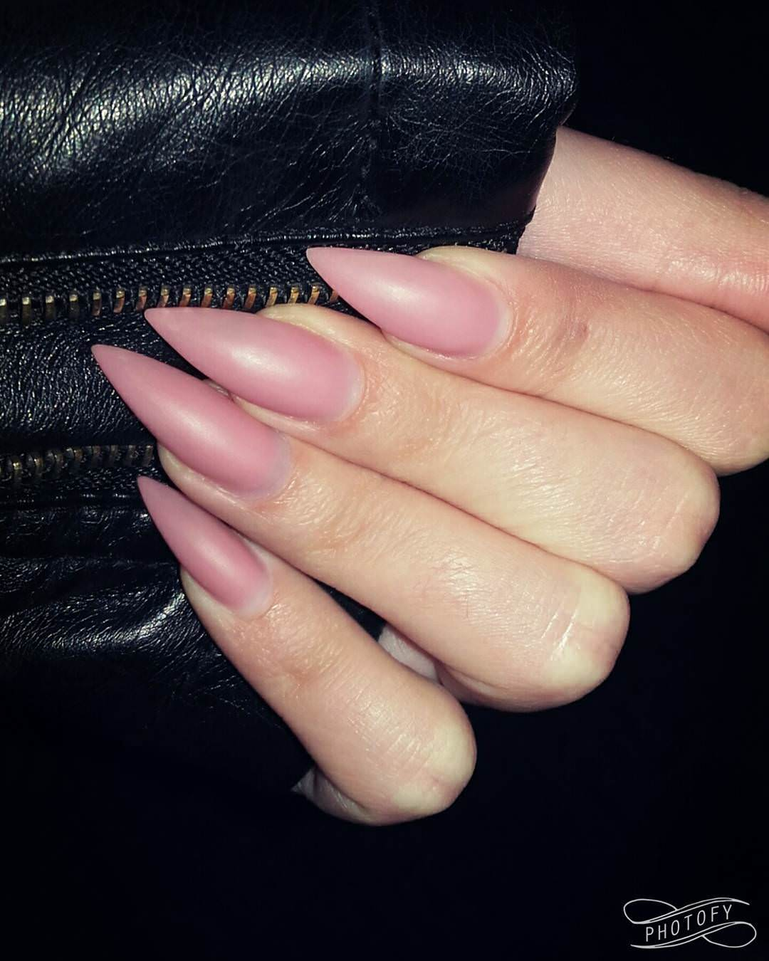 nude matte nails designs