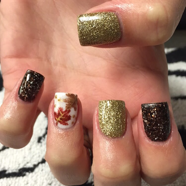 Polish Fall Nail Design