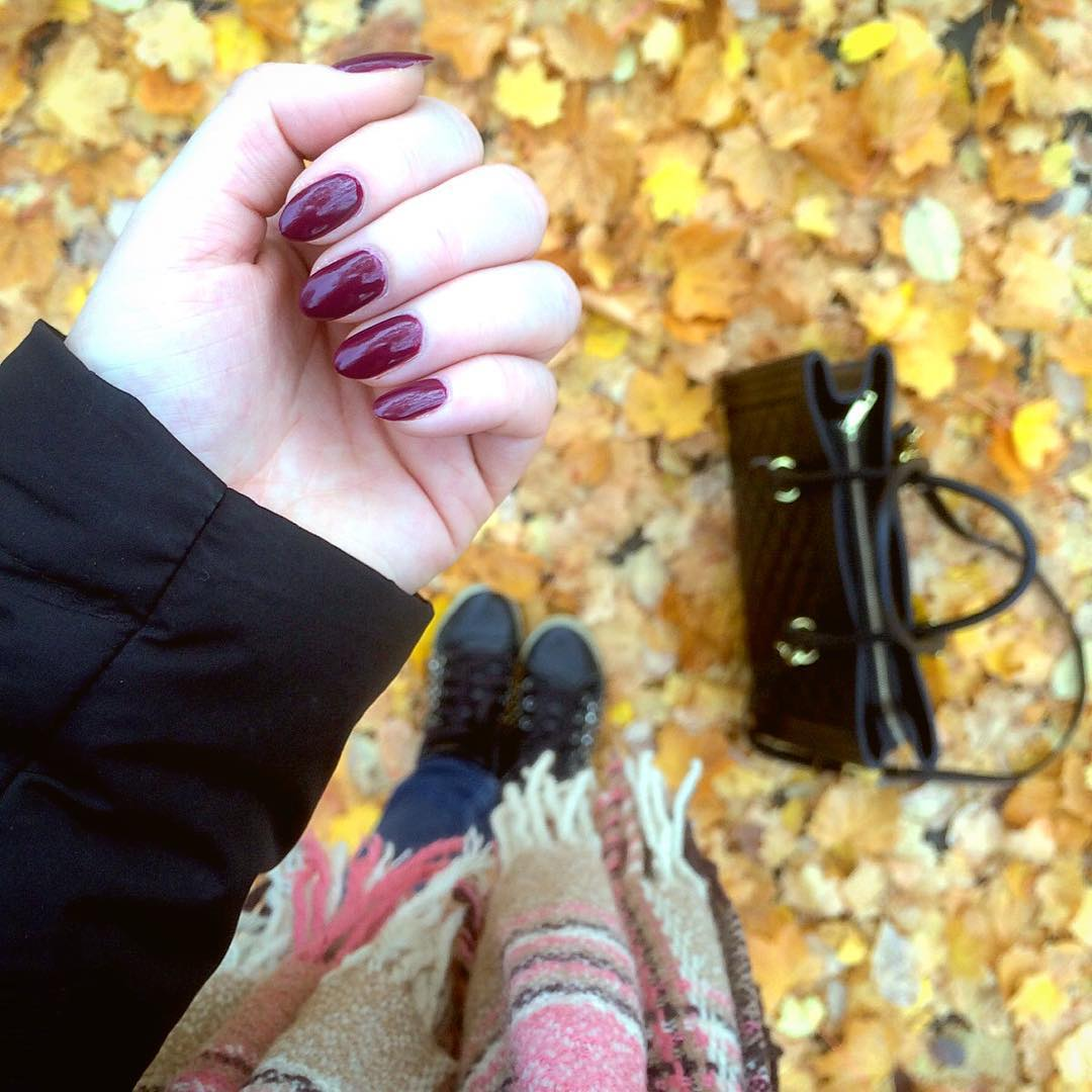 spooky fall nail designs
