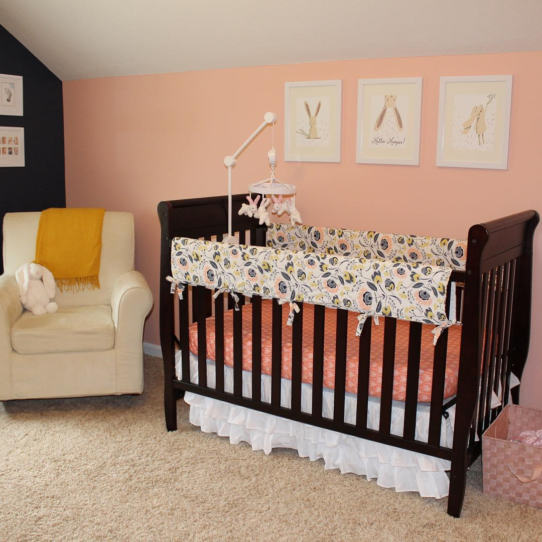 Bumper Less Nursery Bed Design, sofa,