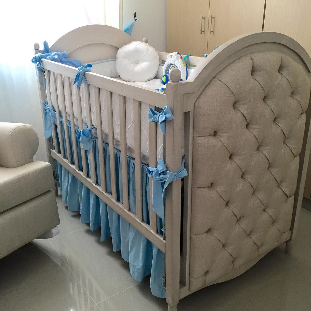 Bumper Nursery Bed Design, Bumper bed.