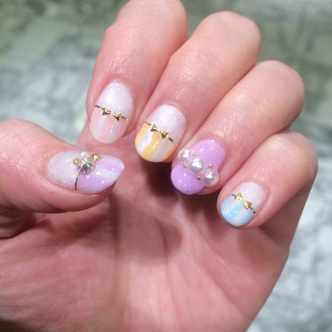 Gel Nail Design for Summer
