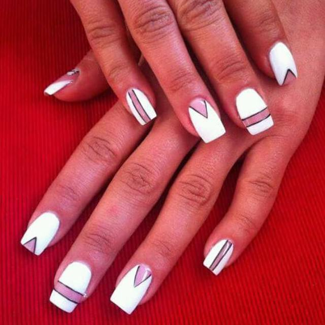 White Summer Nail Designs