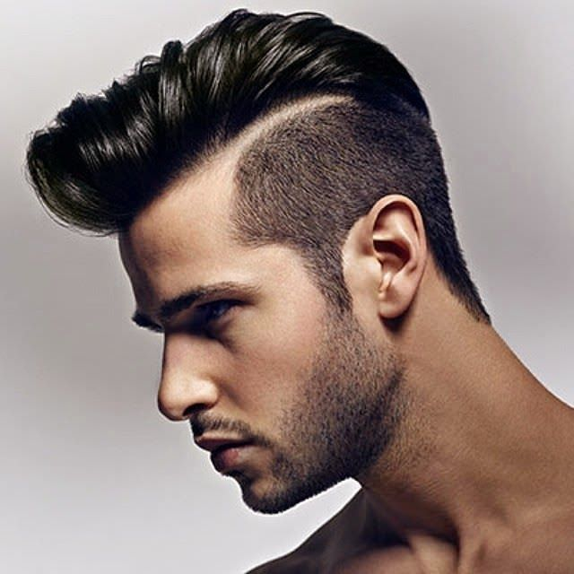 Side Short Hair Design For Men