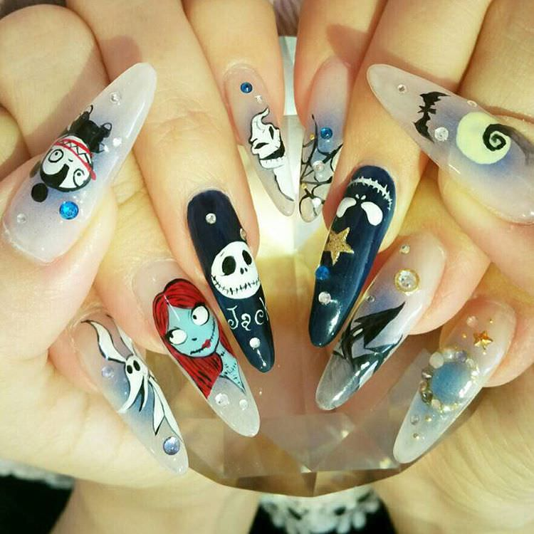 Love Disney Nail Design