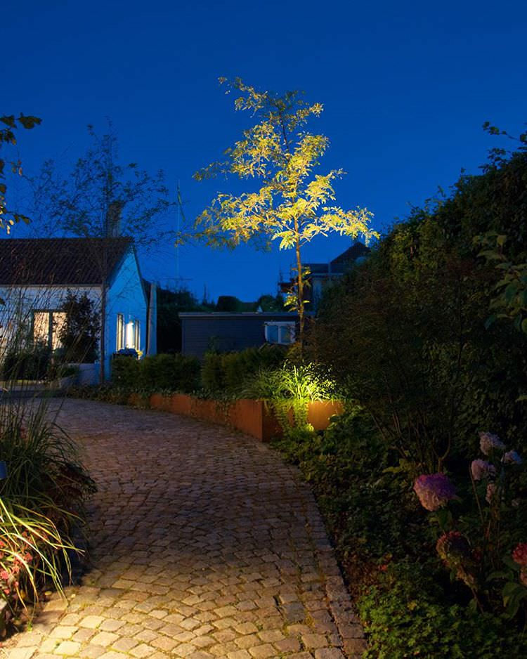 garden outdoor lighting design