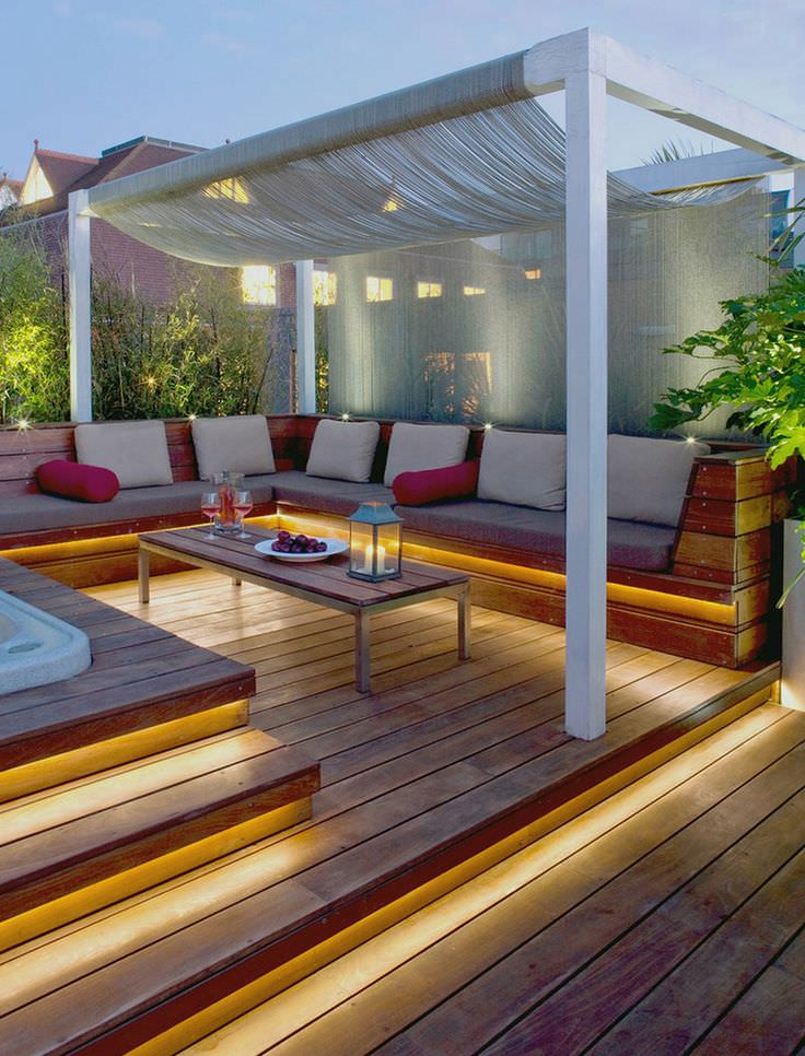 Spa Outdoor Lighting Design