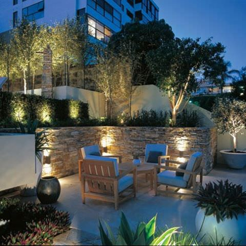style outdoor lighting design