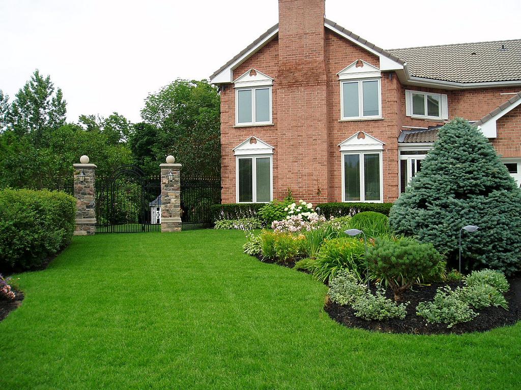 35 latest backyard landscaping designs garden designs design trends. Black Bedroom Furniture Sets. Home Design Ideas