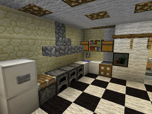 Alt Minecraft Kitchen Design