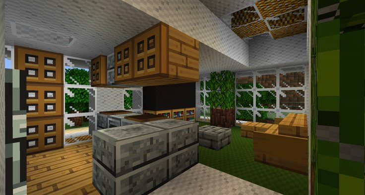 inside minecraft kitchen design - Minecraft Design Ideas