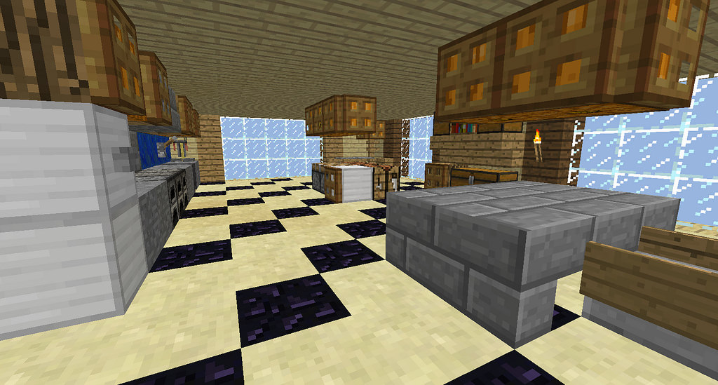 Minecraft Kitchen Floor