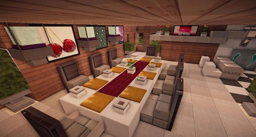 Kitchen Table Mineacraft