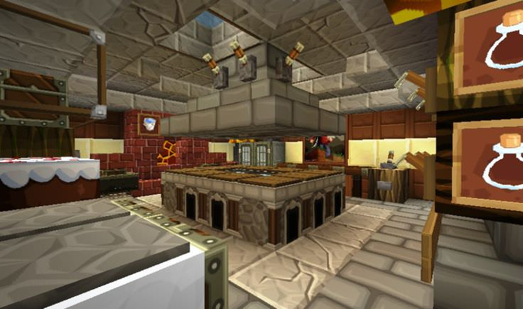 minecraft interior design kitchen 22 mine craft kitchen designs decorating ideas design 20614