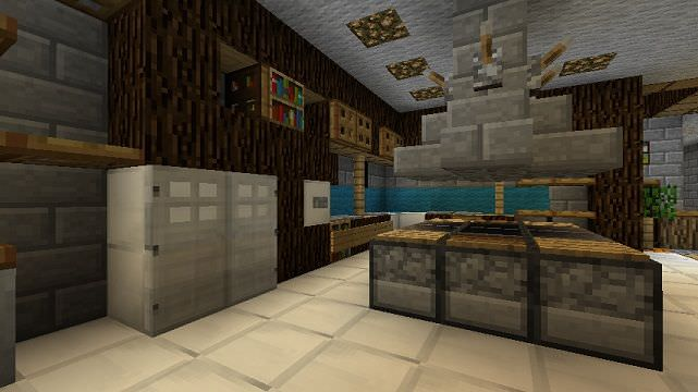 Saturday Minecraft Kitchen Design