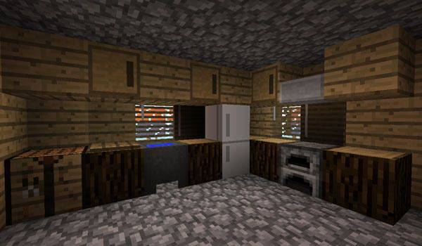 para Minecraft Kitchen Design