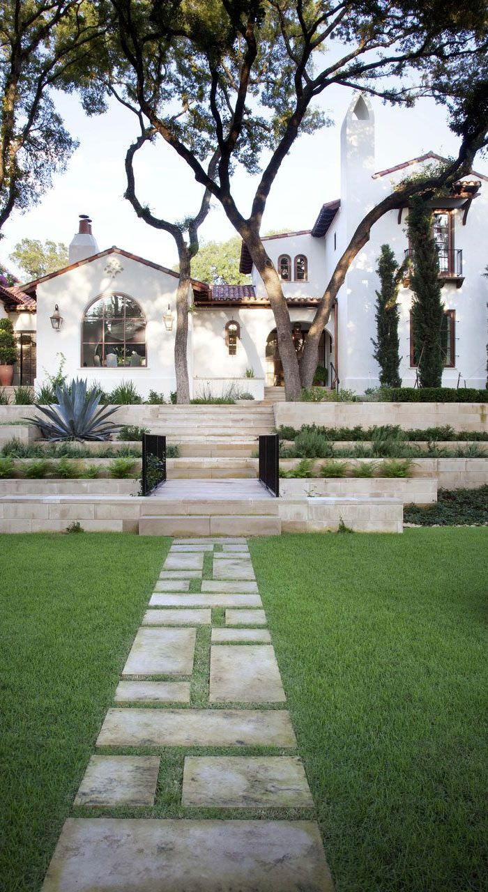 30 contemporary landscape designs for garden garden for Garden design front of house