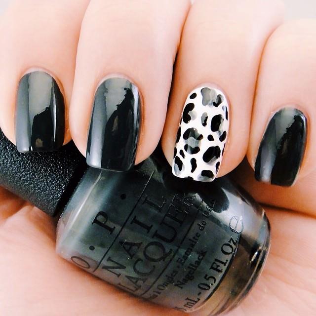 Inspire Leopard Nail Design