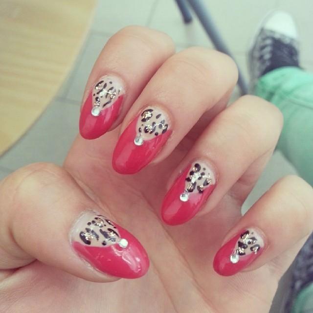 Passion Leopard Nail Design