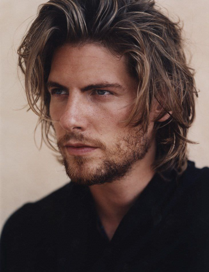 Classic Long Bob HairStyles Design For Men