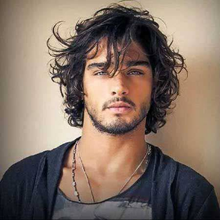 Long Bob HairStyles Design For Men In Front