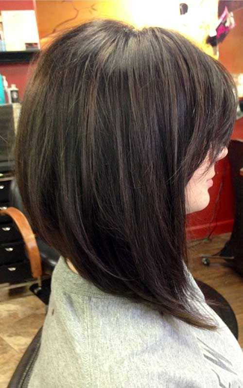 Long Bob HairStyles Design For Women Angled