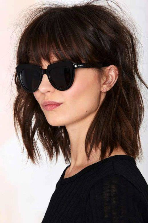 Long Bob HairStyles Design For Women Medium Length