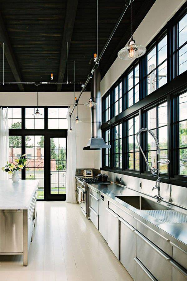 Industrial Kitchen Design: 32+ Commercial Kitchen Designs
