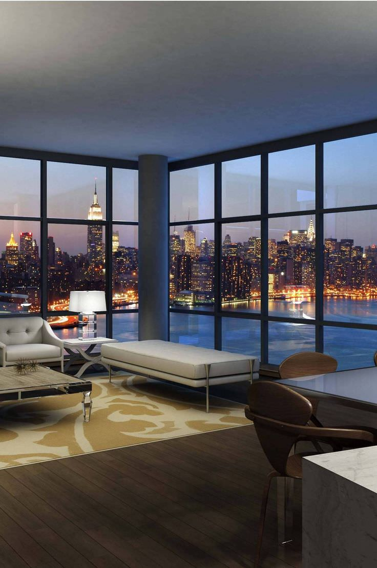 Ceiling Pent House Living Room