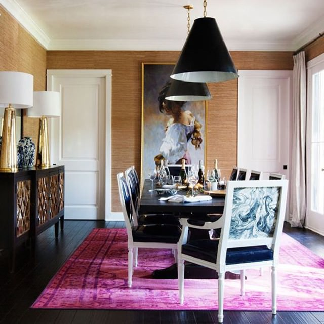 15 wallpaper designs for dining room dining room for Dining room design trends