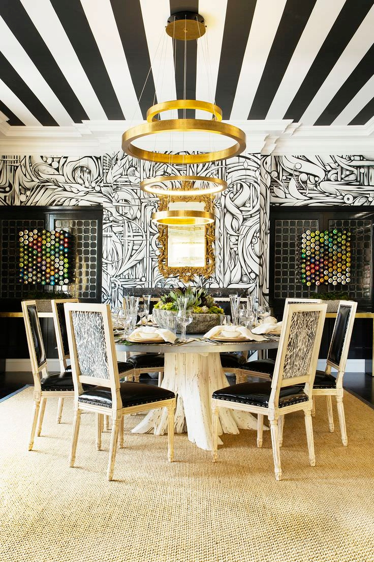 15 Wallpaper Designs for Dining Room Dining Room