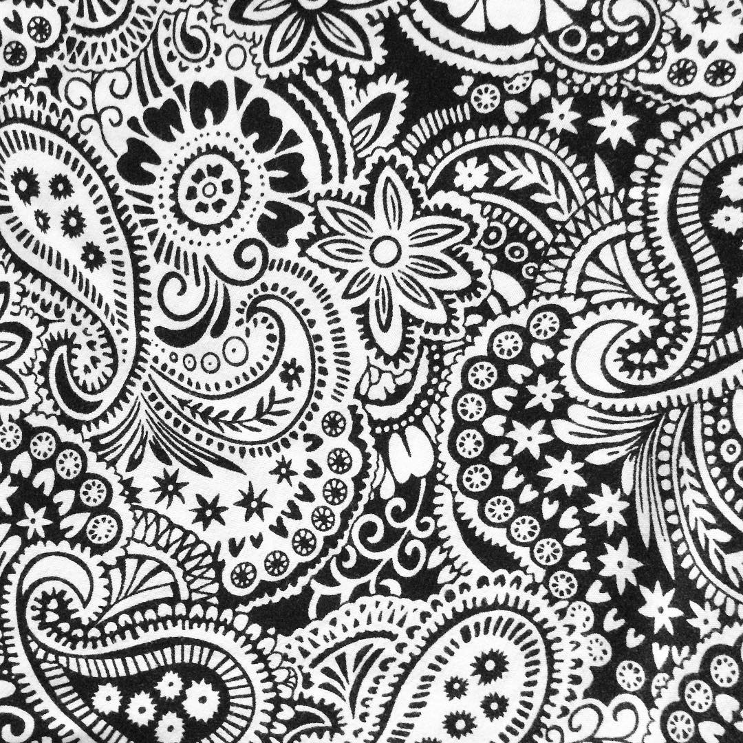 black and white paisley design joy studio design gallery
