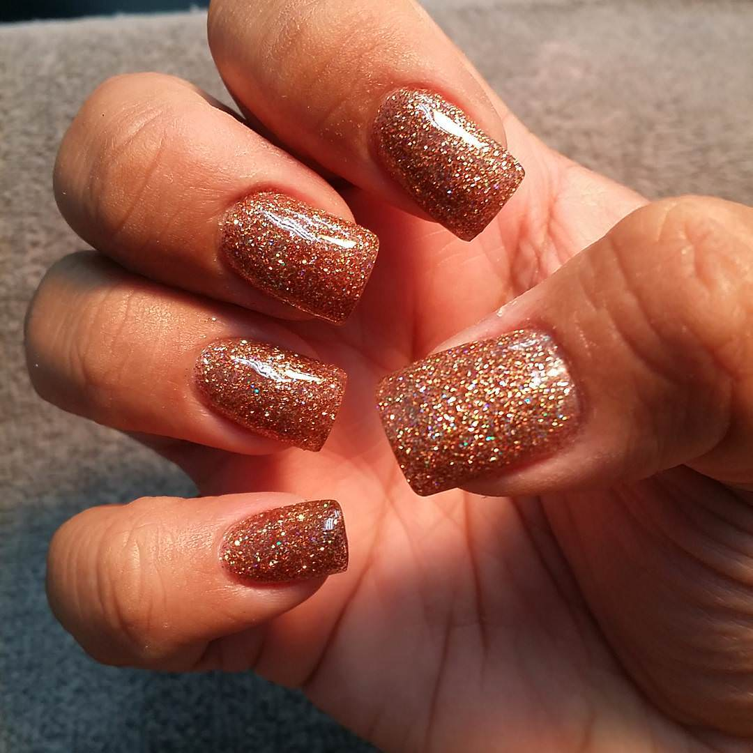 Fall Acrylic Nail Design | Graham Reid