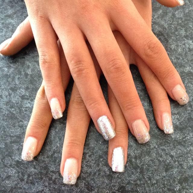 Silver Nails Design