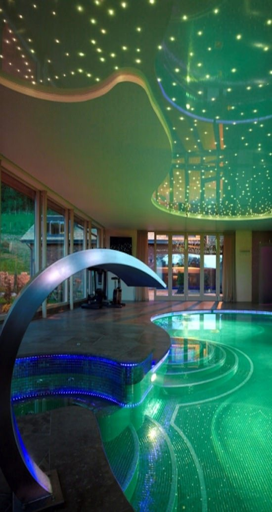 Dancing Swimming Pool Lighting Design