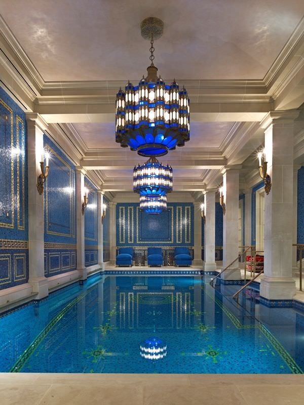 Indoor Swimming Pool Lighting Design