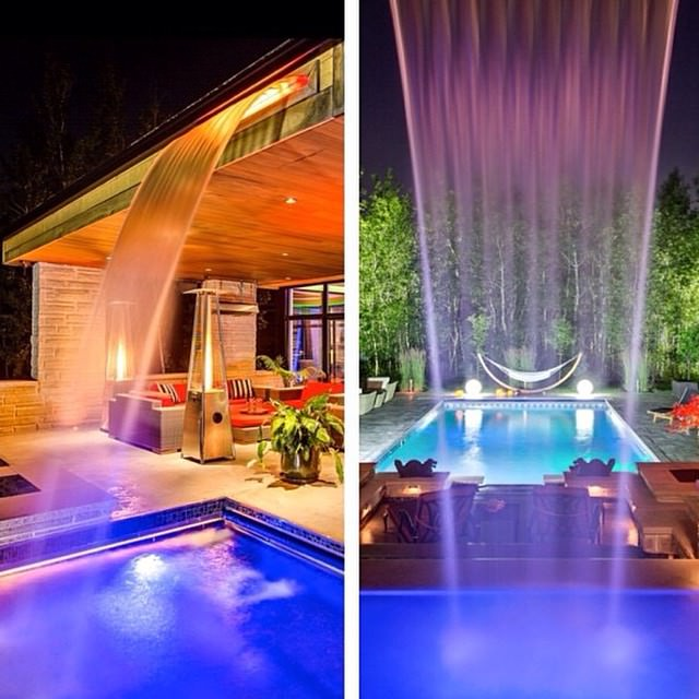 Latest Swimming Pool Lighting Design