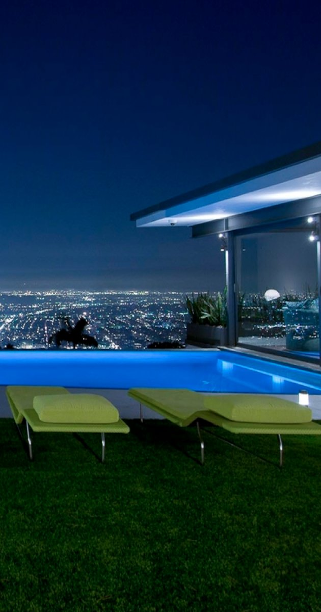 Pent House Swimming Pool Lighting Design