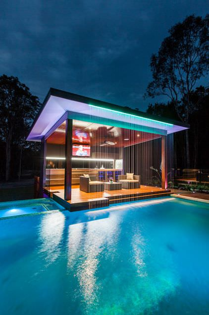 Pool Bar Swimming Pool Lighting Design